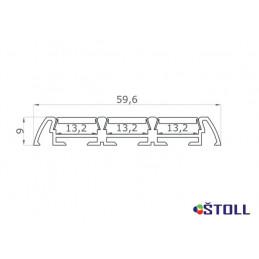 Hliníkový profil LED003032...