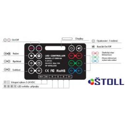Pásek 12Vdc LED001126 5W/m,...
