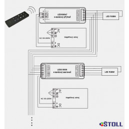 Přijímač ŠTOLL LED006047, 4...